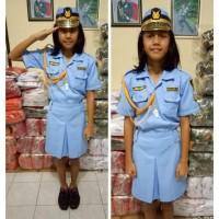 baju profesi anak seragam TNI AU WANITA anak baju karnafal kostum anak