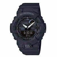 Cassio G-Shock All Black Jam Tangan