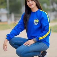 Sweater Wanita Persib Jumper Sweater Fleece/switer cewek/baju bola