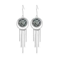 Glamorousky Earrings Anting Silver Bunga Mawar