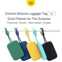 Gantungan Koper Silikon 90Fun Luggage Tag - Biru