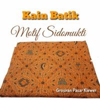 MOTIF SIDOMUKTI Kain Batik / Jarik Cabut / Bahan Batik Sarimbit