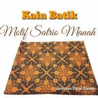 MOTIF SATRIO MANAH Kain Batik / Jarik Cabut / Bahan Batik Sarimbit
