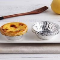 Alumunium foil tantart tart pie susu tatakan paper cup baking tool