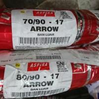 Paket Ban Luar Aspira Arrow 70/90 & 80/90 - 17 Motor Bebek Tube Type
