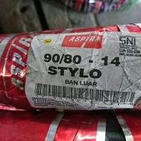 Aspira Stylo 90/80 - 14 ban luar tube type motor matic xeon mio soul
