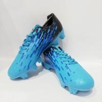 Sepatu Bola Ortuseight Blizzard FG Pale Cyan Black White Blue 11010006