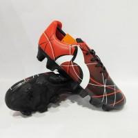Sepatu Bola Ortuseight Ventura FG Red Black White 11010011 Original