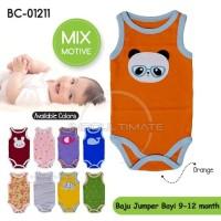 Baju Bayi jumper kaos singlet Jumpsuit Bayi unisex 9-12bln BC-01211
