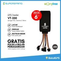 SUPER SPRING GPS TRACKER VT-330 - JARINGAN 3G