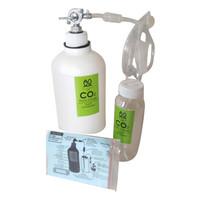 CO2 DIY Aquascape Botol Plastic Silinder