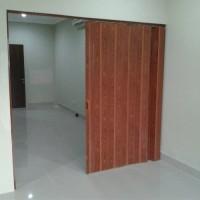 Furniture rumah pintu sekat ruangan Partisi Ruangan PVC - Pintu Lipat