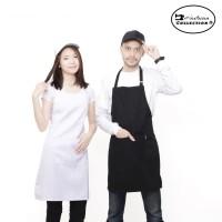 celemek masak Putih & Hitam
