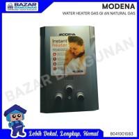 WATER HEATER / PEMANAS AIR GAS NATURAL / ALAM MODENA GI 6 N / 6N V