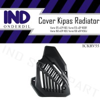Tutup-Cover Kipas Radiator-Mesin Vario 125-150 New eSP LED 2015-2018