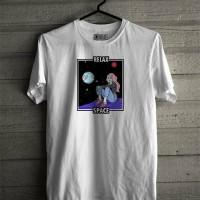 Baju Kaos Unisex Simple Nasa / Luar Angkasa