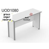 meja kantor meja kerja merek Uno tipe UOD 1080 grey via cargo