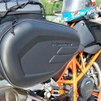 Tas motor Samping Sidebag Komine Import Helm In bagasi touring terbaru