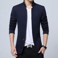 SALE Men Clothes England Style Cotton 5XL Blazer Mandarin