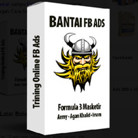 Buku Social Media Bantai FB Ads - Formula 3 Masketir/tutorial