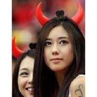 Bando Tanduk Merah Love Bando Lampu Bando Devil Bando Led Bando LED