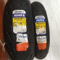 Ban Michelin 120/60-17 180/55-17 Pilot Road 5 Produksi Baru Mt25 R25