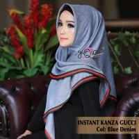 Hijab Jilbab Segi Tiga Instan KANZA GxxCI Matt. Katun Madina