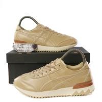 Sepatu Sneakers Casual Asics Onitsuka Tiger MHS Leather Brown Tan BNIB
