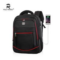 Polo Trands Kasual USB TREN 30L 36136 - Tas Ransel Laptop 5 Warna