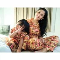Baju Piyama Set Couple Karakter Mom n Kids