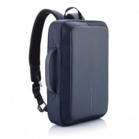 Bobby Bizz Anti-Theft Backpack and Briefcase by XD Design - Navy Blue
