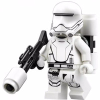 Lego Minifigure Star Wars First Order Flame StormTrooper