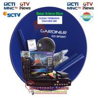 Antena Parabola Mini Garmedia 60cm + Gardiner Ottimo Gratis MNC Group