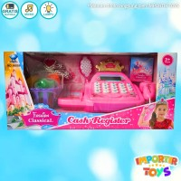 MAINAN CASH REGISTER BESAR FASHION CLASSICAL WITH CALCULATOR