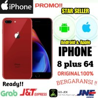 iPhone 8 plus 64 GB Baru Asli original garansi 1 tahun distri Apple