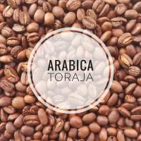 KOPI ARABICA TORAJA ROASTED BEAN 1 KG/1000 GRAM ( BIJI KOPI SANGRAI )