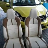 sarung jok mobil brio satya bahan menengah (oscar)
