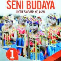 Terbaru Buku Seni Budaya kelas 7 revisi SMP erlangga