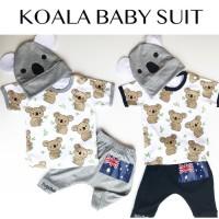 Koala Baby Set / Setelan Anak Bayi Lucu Murah / Baju Kaos Bayi