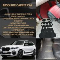 Karpet Mobil Mie Bihun BMW X1 Full Bagasi - Bahan 1 Warna