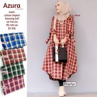 Baju Atasan Wanita Blouse Muslim Azzura Tunik Classy