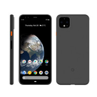 Google Pixel 4 / 4 XL MNML Premium Case Ultra Thin Frosted Black