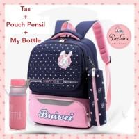 Tas Anak Tas Sekolah TK SD Set My Bottle dan Pouch Pensil