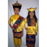 Baju adat anak Prov-Nusa Tenggara Timur-Harga sepasang ( LK&PR) - 5-6 tahun
