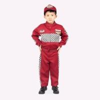 KOstum anak - Baju profesi - Baju pembalap - Kostum Pembalap