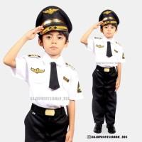 Kostum Pilot -Baju Profesi pilot-Baju anak setelan PILOT - 3-4 tahun
