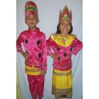 Baju adat anak Prov-Sulawesi Utara - ( Harga sepasang LK & PR )