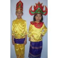 Baju adat anak Prov -Lampung ( Harga sepasang LK & PR ) - 5-6 tahun