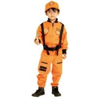 Baju profesi anak - Kostum anak - Kostum Astronot Orange