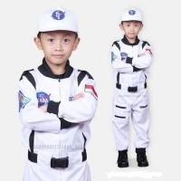 Bajuprofesi anak - Kostum anak - Kostum Astronot putih - 3-4 tahun